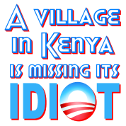 A Village in Kenya is Missing its Idiot Obama