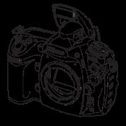 Nikon D700 front black
