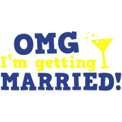 omg im getting married game over cocktail glass