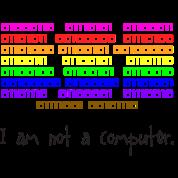 I Am Not A Computer