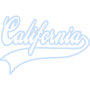 california light blue