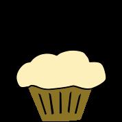Stud Muffin, Cute Funny Cupcake
