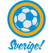Sverige Sweden Football Soccer Circles (3c)