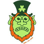 St Paddy's Day Stressed Leprechaun