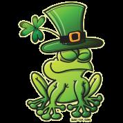 Saint Patrick's Day Frog