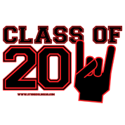 class of 2011 Graduation black and red