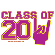 class of 2011 purple and gold
