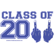 class of 2011 FU Blue and Grey