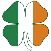 Flag of Ireland Shamrock