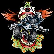 Clownin' Quad Rider