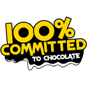 100 percent committed to chocolate