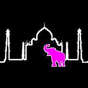 Taj Mahal + Elephant