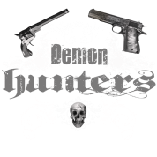 demon hunters white grey