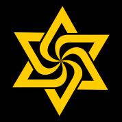 Raelian Star Symbol 2c