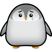Baby Penguin Sad