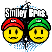 Smiley Bros 2 (dd print)