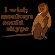 Hangover Monkey Skype