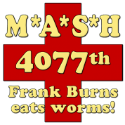 Mash Frank Burns Eats Worms
