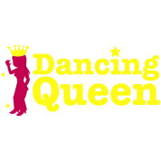 Dancing Queen with dancing girl and crown