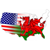 Welsh American Flag