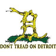 Design ~ Dont Tread on Detroit