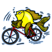 Bicycle Fish , By FabSpark