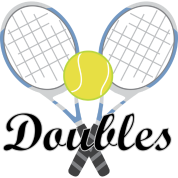 Tennis Doubles Racquet and Ball Sports