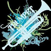Trumpet Music Grunge Art