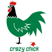 crazy chick chicken party shit