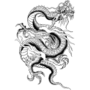 Chinese Dragon ( HD Pixel Design )