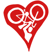 Velolove Bicycle Heart Bike Holdup Single Colour
