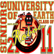 University Of Earth Senior Shirt