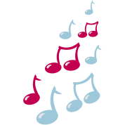 super cute musical music notes