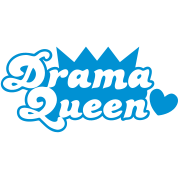 drama queen with love heart