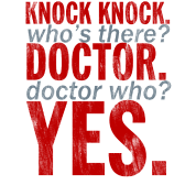 Doctor Who Knock Knock Joke