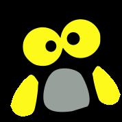 baby_owl_bird_vector art