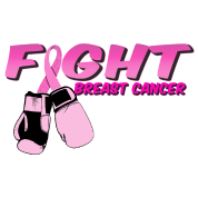 Fight Breast Cancer Pink Boxing Gloves 2
