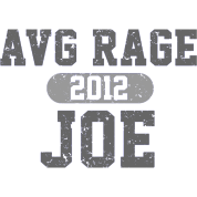 AVERAGE JOE FOOTBALL GREY LOGO
