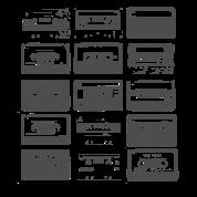 Tape Cassette tee