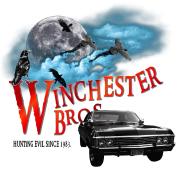 Winchester Bros Hunting Evil Since 1983 1967 chevr