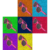 Design ~ Warhol Pink Sunglasses