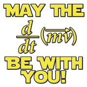 May The Force Be With You Physics Geek