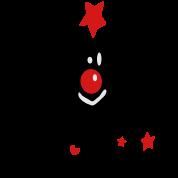 Merry Christmas txt reindeer vector art