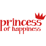 Princess of Happiness with cute little crown red