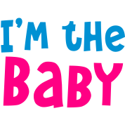 I'm the baby