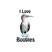 I Love Blue Footed Boobies