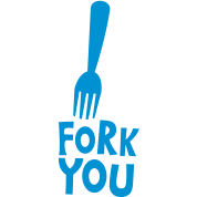 FORK YOU with kitchen utensil