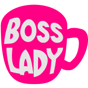 BOSS LADY on a COFFEE cup
