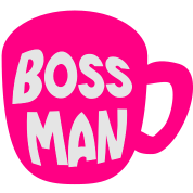 BOSS MAN coffee cup