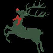 Vintage Christmas Rudolph Reindeer